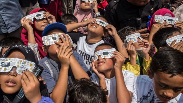 Kinder in Surabaya (Indonesien) (Bild: AFP)