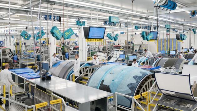 FACC setzt die Wärmebild-Technologie, die an der FH OÖ entwickelt wurde, ein. (Bild: FACC)