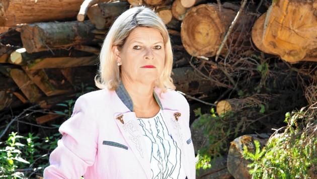 NÖ-Bauernbunddirektorin Klaudia Tanner (Bild: Gabriele Moser)