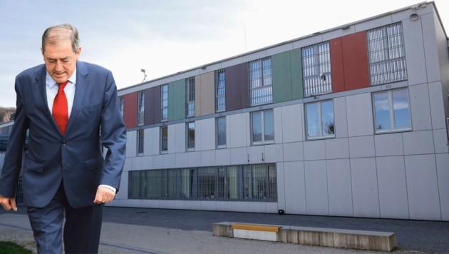Ex-Bürgermeister Heinz Schaden muss die Justizanstalt Puch-Urstein aufsuchen. (Bild: Markus Tschepp)