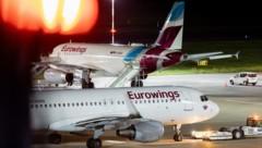 Petition der Gewerkschaft: Diese Woche könnte die Schließung der Lufthansa-Tochter Germanwings verkündet werden. (Bild: APA/dpa/Marcel Kusch)