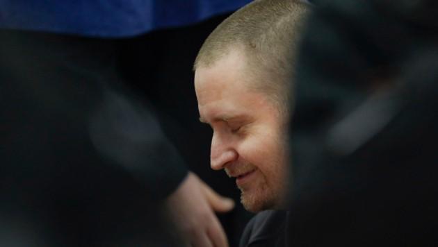 Miroslav Marcek, einer der mutmaßlichen Mörder des Journalisten Jan Kuciak, bei einer Gerichtsanhörung