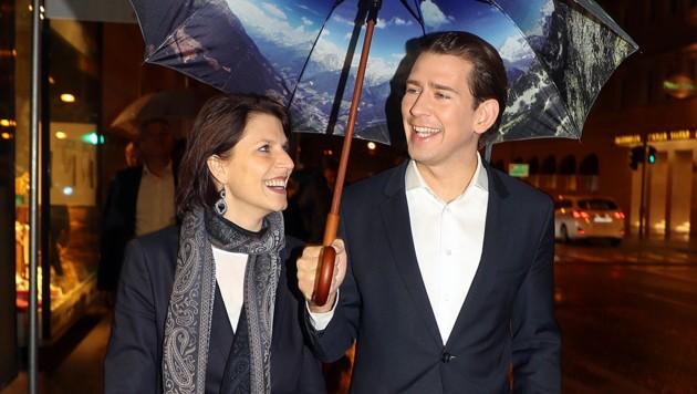 """Sebastian Kurz holt Karoline Edtstadler - hier bei einer Veranstaltung in Salzburg im März 2019 - für die """"neue Bundesregierung"""" zurück nach Wien. (Bild: APA/Franz Neumayr)"""