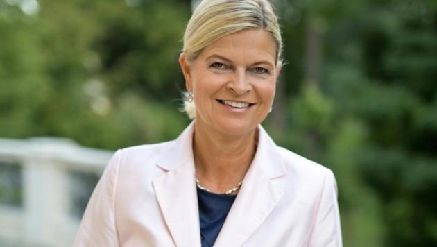 Verteidigungsministerin Klaudia Tanner (ÖVP) (Bild: APA/ÖVP/JAKOB GLASER)