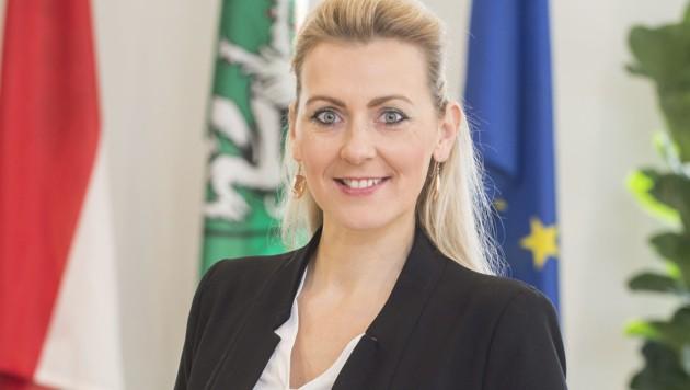 Bundesministerin Christine Aschbacher (ÖVP) (Bild: APA/STVP/FISCHER)