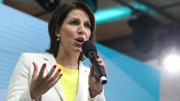Kanzleramt und Europa: Karoline Edtstadler (ÖVP) (Bild: APA/GEORG HOCHMUTH)