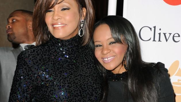 Whitney Houston und ihre Tochter Bobbi Kristina Brown (Bild: 2011 Getty Images)