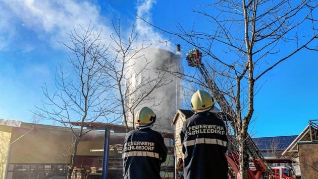 Alarmstufe 2 in Schleedorf. (Bild: Markus Tschepp)