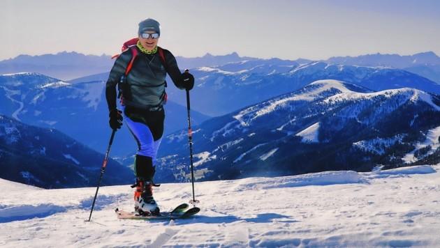 Hans Sucher knapp unter dem Mallnock-Gipfel. (Bild: Wallner Hannes)