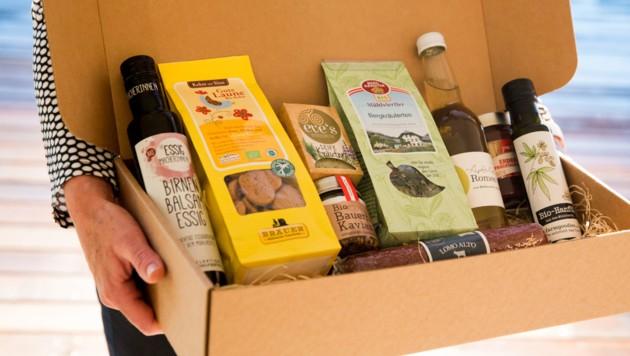 Die BioRegion Mühlviertel holte sich einen Preis für die Lebensmittelbox. (Bild: Mesic)