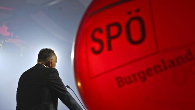 Die SPÖ Burgenland startete am Freitag in Oberwart offiziell in ihren Wahlkampf für die Landtagswahl. (Bild: APA/HERBERT NEUBAUER)