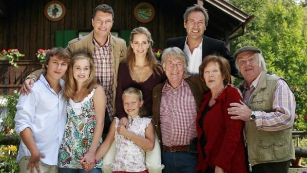 """Viele Jahre war Veronika Fitz in der TV-Serie """"Forsthaus Falkenau"""" zu sehen. (Bild: dpa/Tobias Hase)"""