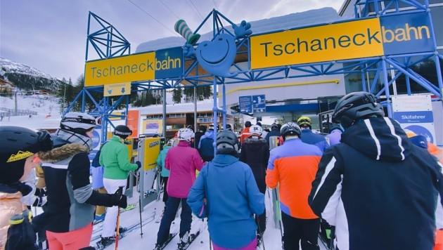Der Andrang an Wintersportlern in Kärntens Skigebieten war in den Ferien gewaltig (Bild: Wallner Hannes)