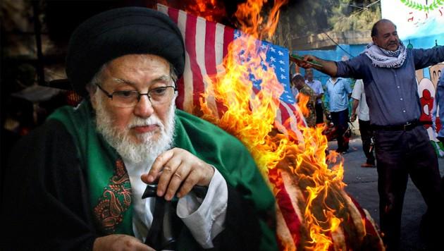 (Bild: APA/AFP/Anwar Amro, AFP, krone.at-Grafik)