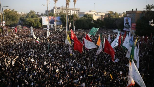 (Bild: APA/AFP/fars news/HOSSEIN MERSADI)
