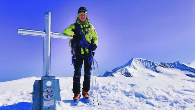 """Bergführer Sigi Hatzer gilt als der Erfinder der """"Hoch Tirol"""", die von Kasern in Südtirol durch die Osttiroler Bergwelt auf den Großglockner führt. (Bild: Siegi Hatzer)"""