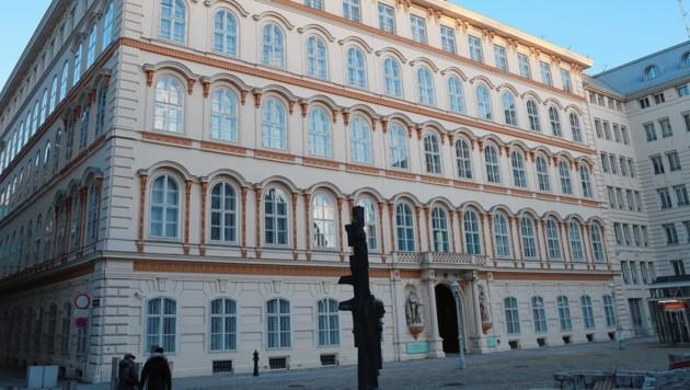 Das Außenministerium am Wiener Minoritenplatz