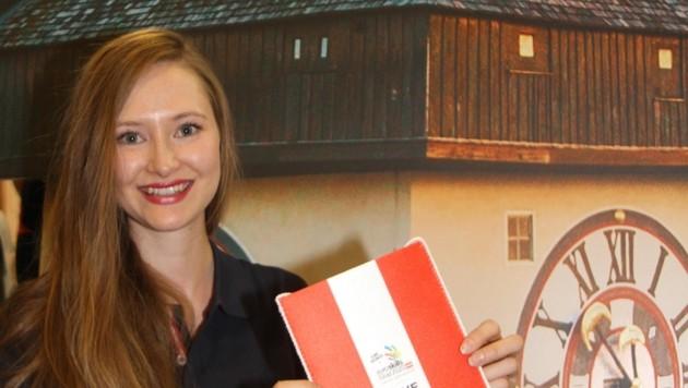 Die Europameisterin der Maler, Lisa Janisch, ist Botschafterin der EuroSkills in Graz. (Bild: Jauschowetz Christian)