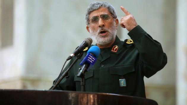 General Esmail Ghaani ist der Nachfolger des getöteten iranischen Generals Kassem Soleimani. (Bild: AP)
