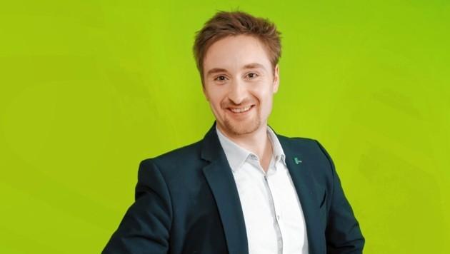 Stefan Rothbart ist Gemeinderat für die Grünen in Stattegg. Er sieht die Regierungsbeteiligung seiner Partei positiv. (Bild: Die Grünen)