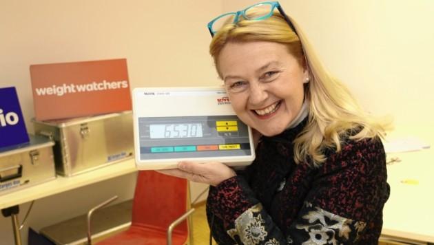 Doris Schwarzbach ist seit 1994 bei den WW - der Jänner boomt jedes Jahr. (Bild: Christian Jauschowetz)