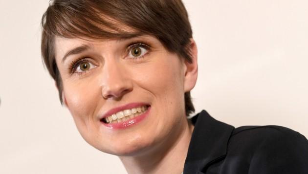 Die neu gewählte Klubchefin der Grünen, Sigrid Maurer (Bild: APA/ROLAND SCHLAGER)