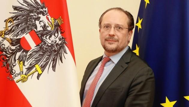 Außenminister Alexander Schallenberg (Bild: Zwefo)