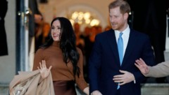 Herzogin Meghan und Prinz Harry (Bild: APA/AP)