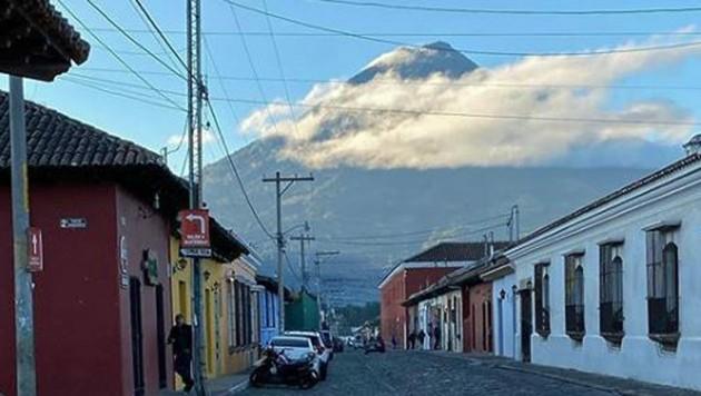 Ein Blick auf den Volcan de Fuego. (Bild: instagram.com)