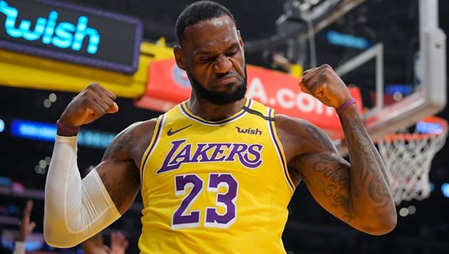 NBA-Superstar LeBron James (Bild: AP)