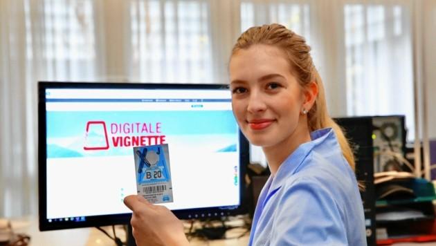 Beim Online-Kauf der digitalen Autobahnvignette bitte ganz genau auf die Richtigkeit der eingegebenen Daten achten! (Bild: Jöchl Martin)