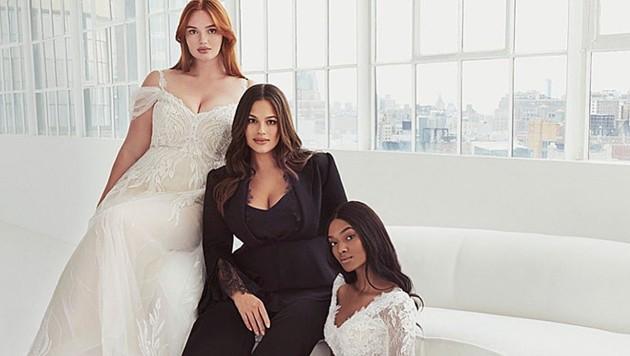 Ashley Graham bringt eine wunderschöne Brautmoden-Kollektion auf den Markt. (Bild: instagram.com/pronovias)
