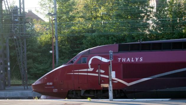 Der Thalys ist ein europäischer Hochgeschwindigkeitszug, der auf der Technik des TGV beruht. (Bild: AP)