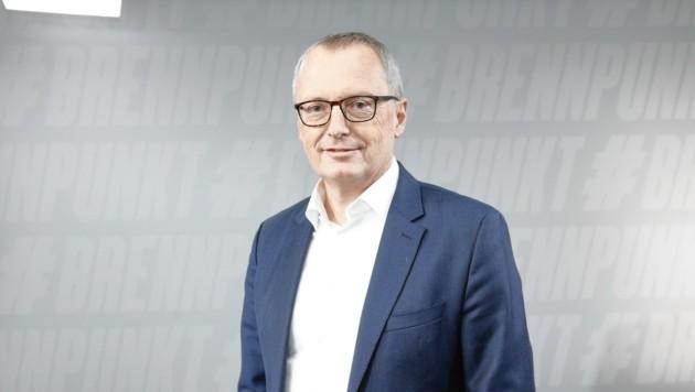 """Geschäftsführender Chefredakteur der """"Krone"""", Klaus Herrmann (Bild: Reinhard Holl)"""