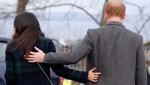 Herzogin Meghan und Prinz Harry haben sich am 8. Jänner 2020 aus dem britischen Königshaus zurückgezogen. (Bild: APA/AP)