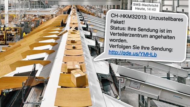 (Bild: Watson, Österreichische Post AG, krone.at-Grafik)