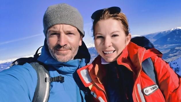 Bergselfie mit Julia Schaar: Ich finde dein Natur- und Klimaengagement toll. (Bild: Wallner Hannes)