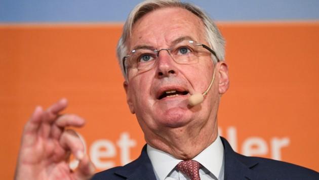 Brexit-Chefunterhändler Michel Barnier (Bild: AFP)