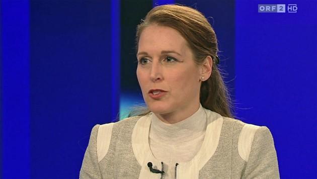 Sabine Matejka, Präsidentin der Richtervereinigung (Bild: tvthek.orf.at)