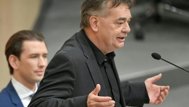 Vizekanzler Werner Kogler (Bild: APA/ROLAND SCHLAGER)