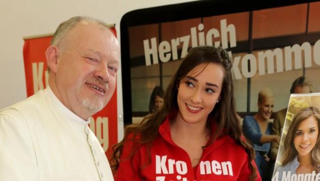 KroneFIT 2020: Kräuterpfarrer Benedikt (Bild: Christian Jauschowetz)