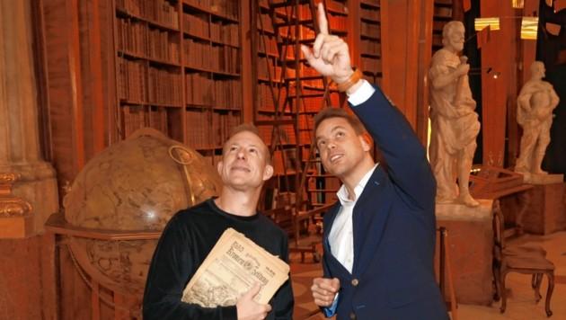 Stefan Weinberger und Martin Thür (Bild: zwefo)