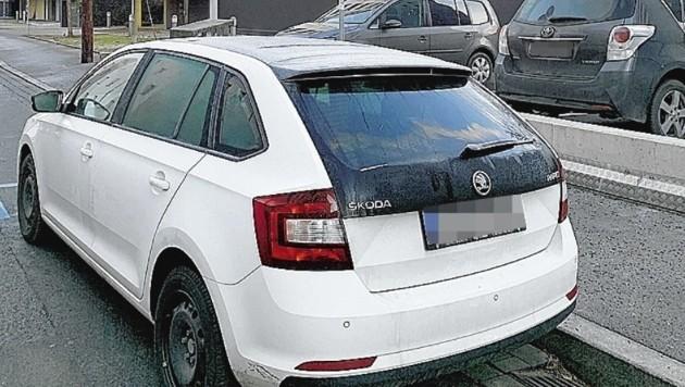 Bei diesen Parkplätzen in der Laimburggasse werden Eltern regelmäßig abgestraft. (Bild: zVg)