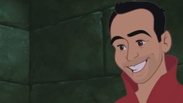 Lee ist in dieser Version Prinz Philip. (Bild: instagram/kaylacoombs)