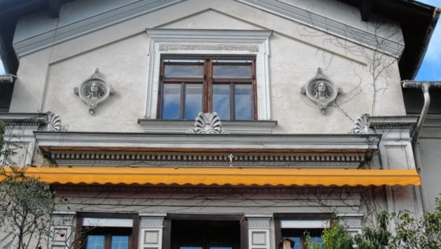 Statt der klassizistischen Villa in der Eggenberger Allee 10... (Bild: Peter Laukhardt)