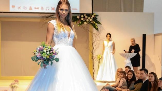 Die Messe Hochzeiten & Feste präsentiert die neueste Mode (Bild: Christian Forcher)