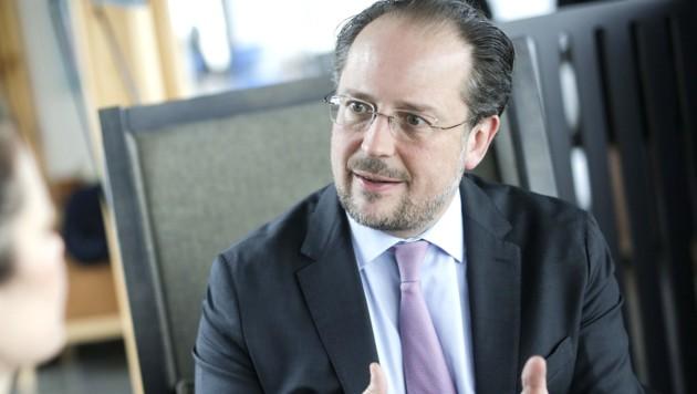 Außenminister Alexander Schallenberg (ÖVP) (Bild: APA/BKA/ANDY WENZEL)