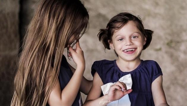 Das sind die KAT6A-Kinder Österreichs: Paulina ist mit bald sieben das älteste Kind. (Bild: KAT6A Foundation Austria)