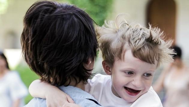 Von der seltenen De-Novo- Mutation ist außerdem der fünfjährige Leo betroffen. (Bild: KAT6A Foundation Austria)