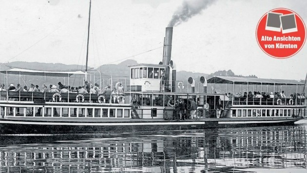 """Die Schifffahrt - auf dem Foto das DS """"Helios""""- hat eine lange Geschichte. (Bild: TAÖ/AAvK)"""